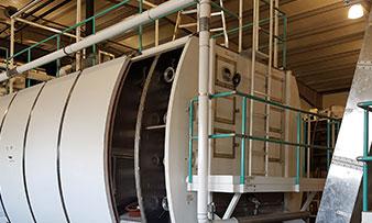 Nouveau site d'une machine de production de pâtes alimentaires