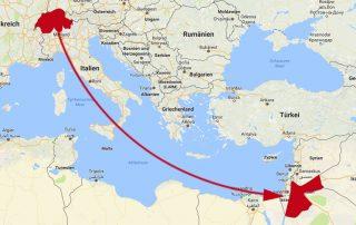 Fabriksverlagerung Schweiz Jordanien
